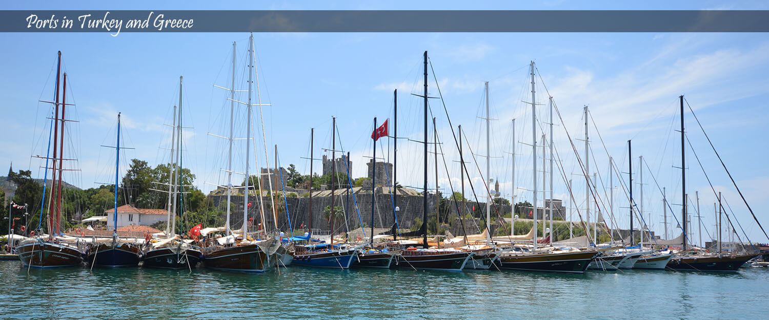 Bodex Yachting - Ports in Turkey and Greece