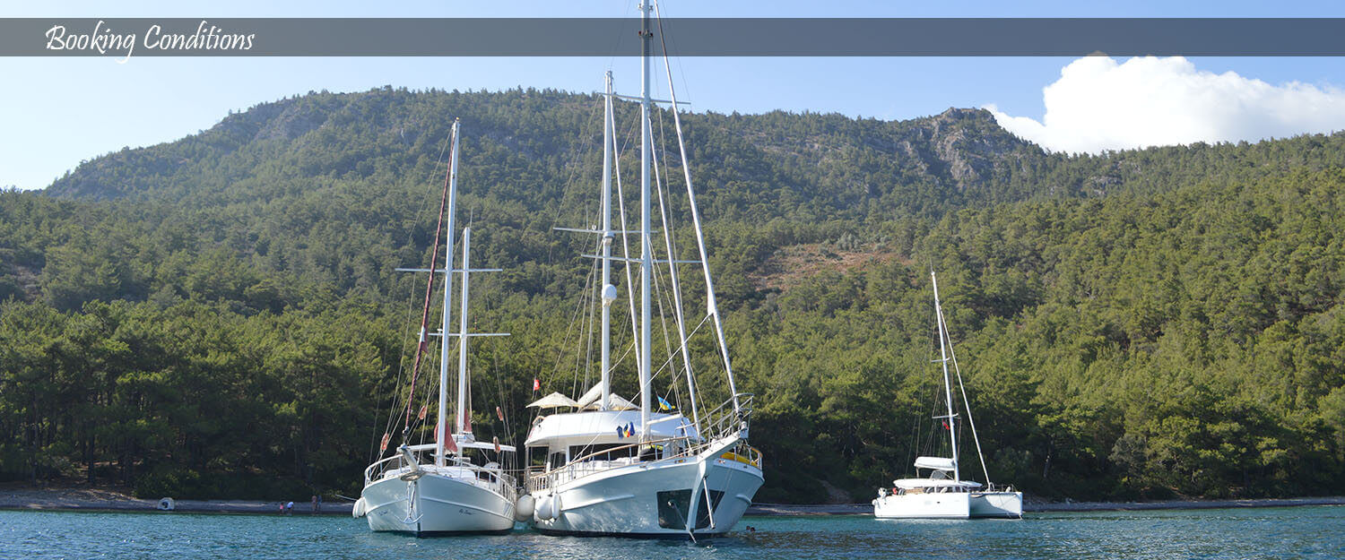 Bodex Yachting - Booking Conditions
