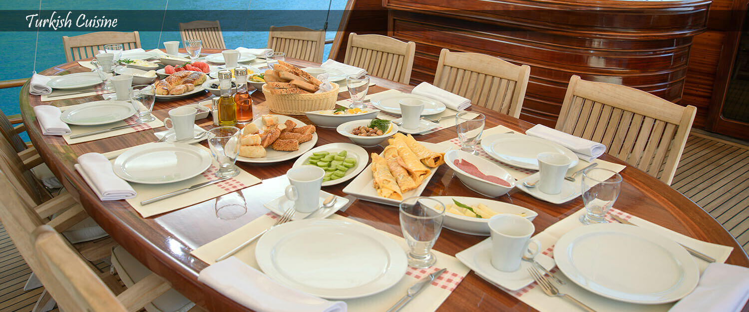 Bodex Yachting - Turkish Cuisine